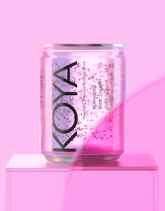 Проект KOYA — Mental & Energy Drink